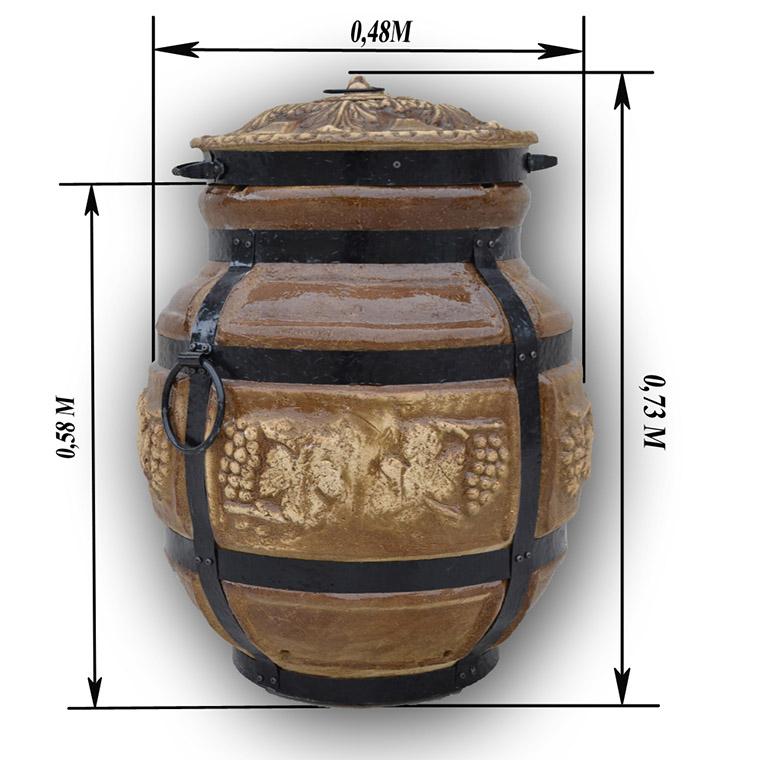 Керамическая печь тандыр